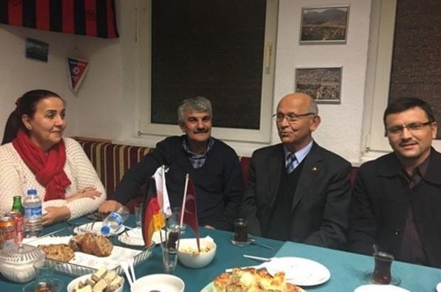 Başkan Güneş Almanya'da Zonguldak'lılar  derneğini ziyarette bulundu