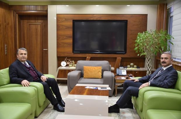 Başkan Çerçi, Kaymakam Erdoğdu'yu ağırladı