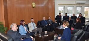 Çerçioğlu'ndan Didim Belediyesine ziyaret