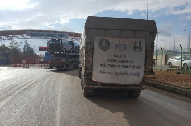 """ESTP Başkanı Güvenli;  """"Yardım TIR'ları sınırı geçti"""""""