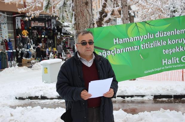Başkan Gürsoy'dan ağaçları koruyan Odunpazarı'na teşekkür