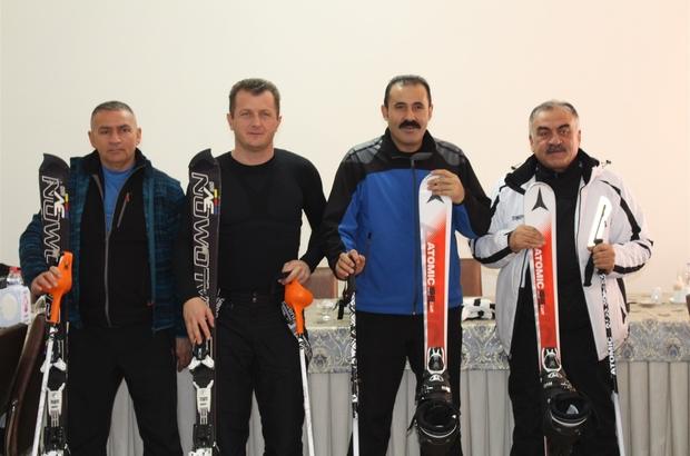 Karaman'da kayak merkezi atağı