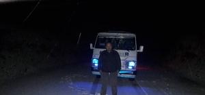 Aydın'ın yüksek kesimlerinde kar sevinci yaşandı