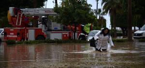 Mersin'de kuvvetli yağış