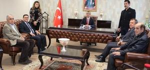 Milas OSB Yönetimi, Kaymakam Eren Arslan'ı ziyaret etti