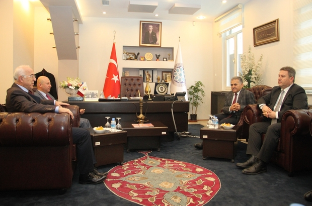Metropol İlçe Belediye Başkanlarından KTO'ya Ziyaret