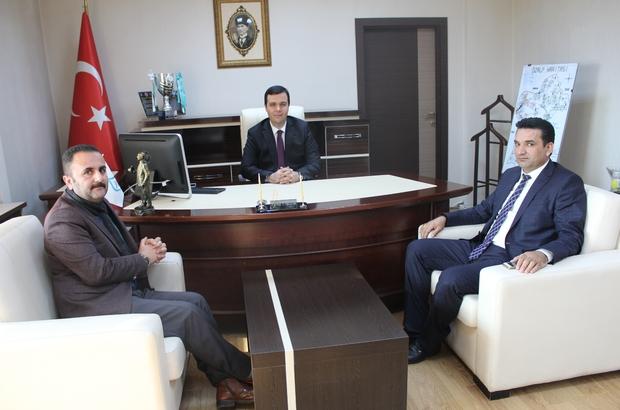 AK Parti heyetinden Kaymakam Vardar'a ziyaret