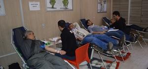 Kızılay 2016 yılında Besni'de bin 97 ünite kan topladı