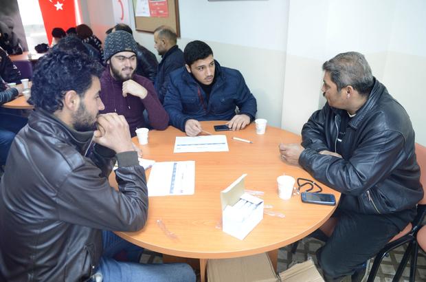 Kilis'teki Suriyelilere girişimcilik eğitimi