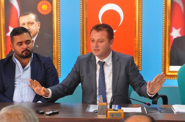 AK Parti Manavgat İlçe Teşkilatı'ndan yürütme toplantısı