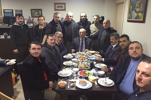 Milletvekili Hüseyin Özbakır sanayi esnafı ile buluştu