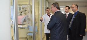 Medova Hastanesine ziyaretler sürüyor