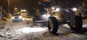 Pamukkale Belediyesi'nden karla mücadele
