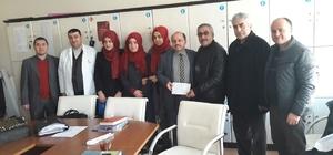 Öğrenciler harçlıklarını Halep için bağışladı