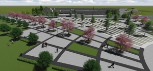Selendi'ye Kent Meydanı yapımına başlandı