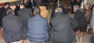 Alibeyoğlu'ndan esnaf ziyareti