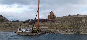 Akdamar Adası yeni iskelesine kavuşuyor