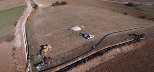 Devrekani Ovası'nda 51 bin 280 dekar zirai arazi suyla buluştu
