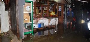 Sapanca'da su baskını
