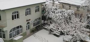 Aydın'da muhteşem kar manzaraları