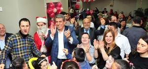 Balçova'da engelli gençlere özel yeni yıl partisi