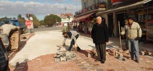 Çardak'ta İskele Meydanı düzenlemesi