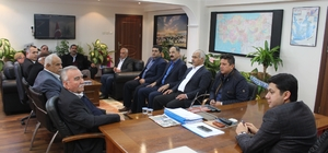 """Başkan Fırat: """"Kaymakamlığın hizmetlerinde daima yanında olacağız"""""""
