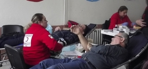 Çan Anadolu Lisesi'nden Kızılay'a 79 ünite kan bağışı