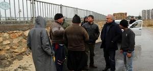 Başkan Tollu, selden etkilenebilecek yerleri gezerek, incelemelerde bulundu