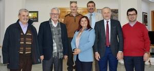 Ege Barış ve İletişim Derneği'nden Didim Belediyesine ziyaret