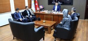 Büro Memur-Sen'den Başkan Subaşıoğlu'na ziyaret