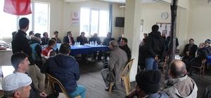 Şaphane'de halk toplantısında vatandaşlar bilgilendirildi