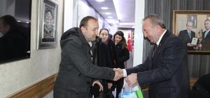 Aday Öğretmenlerden Başkan Şahiner'e Ziyaret