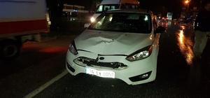 Sakarya'da otomobilin çarptığı yaya öldü