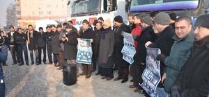Muş'tan Halep'e 3 TIR un yardımı