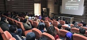 Üstün zekalı öğrenciler projelerini anlattı