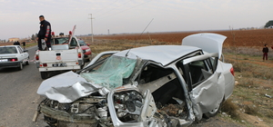 Şanlıurfa'da trafik kazası: 1 ölü, 6 yaralı