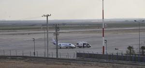 Ambulans uçak Mardin'deki yaralı için havalandı