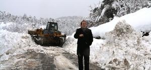 İznik Kaymakamı Pehlivan karla mücadeleyi denetledi