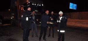 Patnos Gazeteciler Cemiyeti yılbaşında polisleri unutmadı