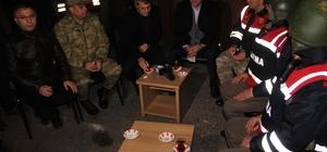 Elazığ'da protokol yeni yıla güvenlik güçleriyle girdi