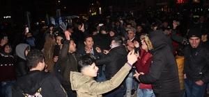 Eskişehirliler ve Suriyelilerin yeni yıl coşkusu