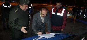 Vali Yurtnaç, emniyet ve jandarma personelinin yeni yılını kutladı