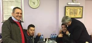 Milletvekili Günnar ve Başkan Sağıroğlu'dan Yomra esnafına ziyaret