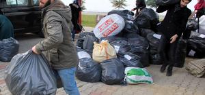 Giresun'dan, Halep halkına destek sürüyor