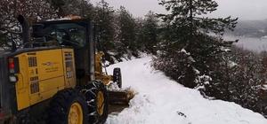 Bartın'da kapanan 66 köy yolu ulaşıma açıldı
