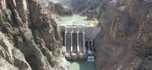 Güllübağ Barajı ve HES Doğuyu aydınlatmaya devam ediyor