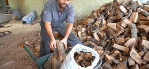 Silifke'de 47 aileye 25 ton odun yardımı yapıldı