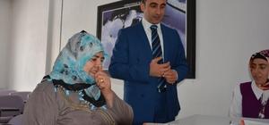 Kaymakam Alibeyoğlu, Aile Destek Merkezini ziyaret etti