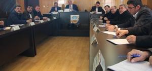 İncesu Belediyesi Aralık ayı toplantısı yapıldı